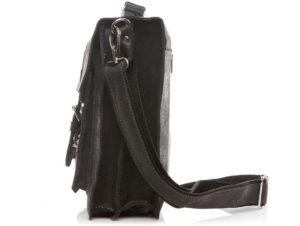 torba na ramie czarna