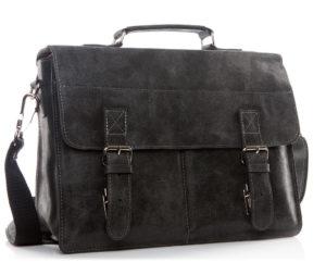 torba skórzana czarna