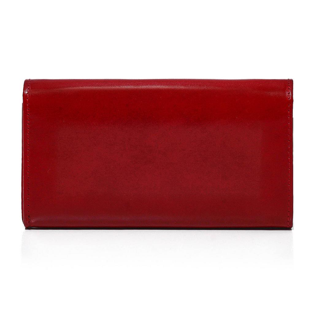 539a1f3d2b727 czerwony skórzany portfel. czerwony portfel damski. czerwony portfel  skórzany