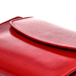 czerwona portmonetka damska