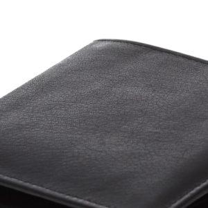 duży portfel czarny