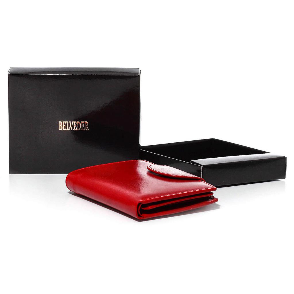 312fb13c8683c portfel portmonetka skórzany. czerwona portmonetka. mały portfel portmonetka
