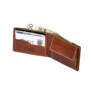 portfel bez podszewki