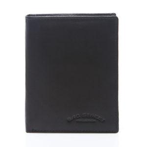 męski portfel czarny