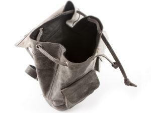 plecak skórzany worek