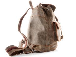 Plecak vintage beż