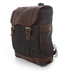 plecak skórzany brązowy