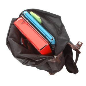 plecak na laptopa skórzany