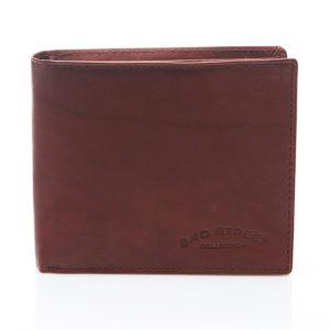 portfel męski burgundowy