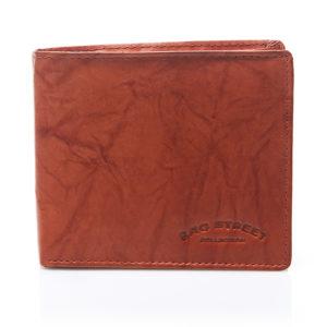portfel męski koniakowy