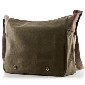 torba męska zielona
