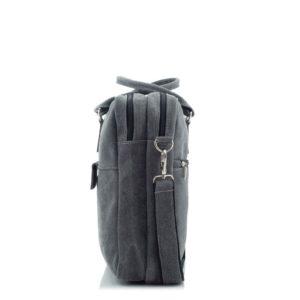 torba na laptopa szara