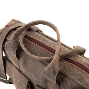 torba na laptop beżowa