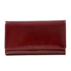 Burgundowy portfel