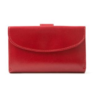 portfel czerwony