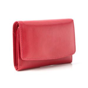 portfel malinowy