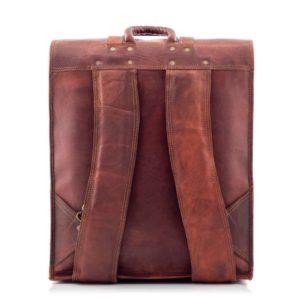 brązowy plecak