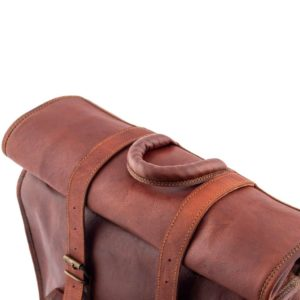 uchwyt plecaka skórzanego