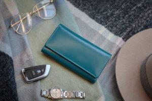 portfele skórzane damskie