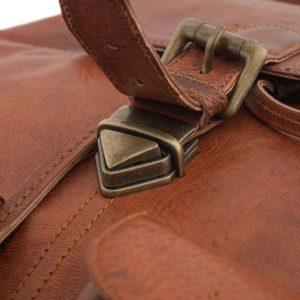 stylowy plecak skórzany