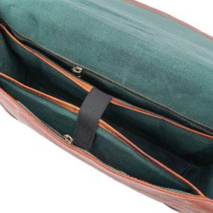 pojemna torba skórzana