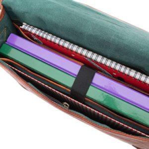 torba na ramię ze skóry