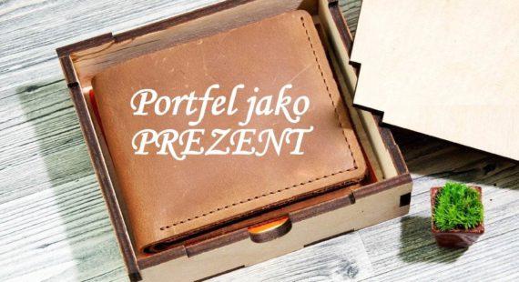 co oznacza portfel jako prezent
