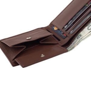 męski portfel z bilonówką