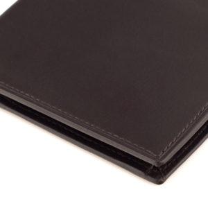 portfel ciemnobrązowy