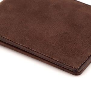 portfel męski brązowy