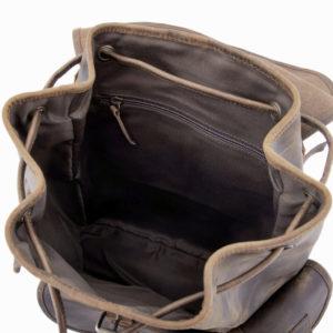 Skórzany plecak do pracy