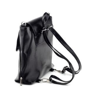 Torebka i plecak 2w1 skórzany