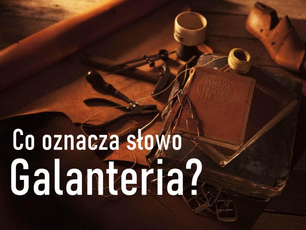 co to galanteria