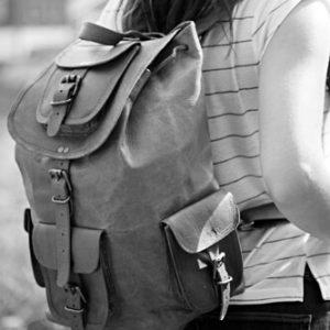 plecaki ze skóry damskie