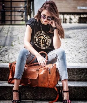 torba podróżna damska skórzana