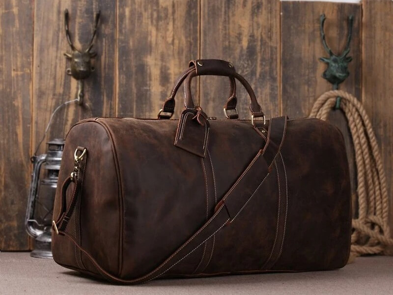 torba podróżna męska skórzana