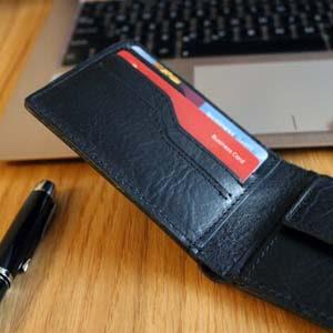 cienkie portfele męskie