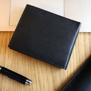 eleganckie portfele męskie