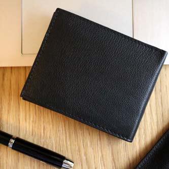 mały męski portfel