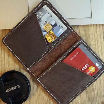 mały portfel męski skórzany