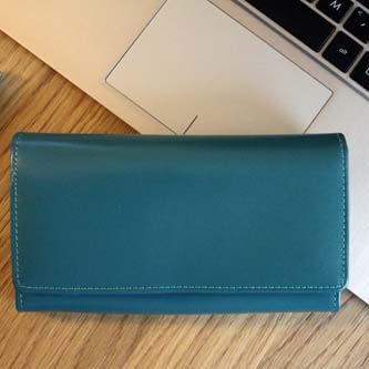 pojemne portfele damskie