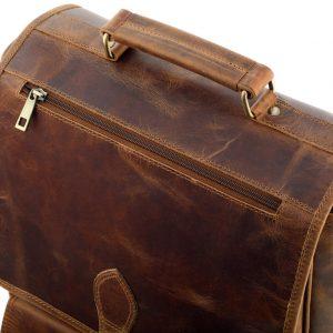 skóra vintage plecak