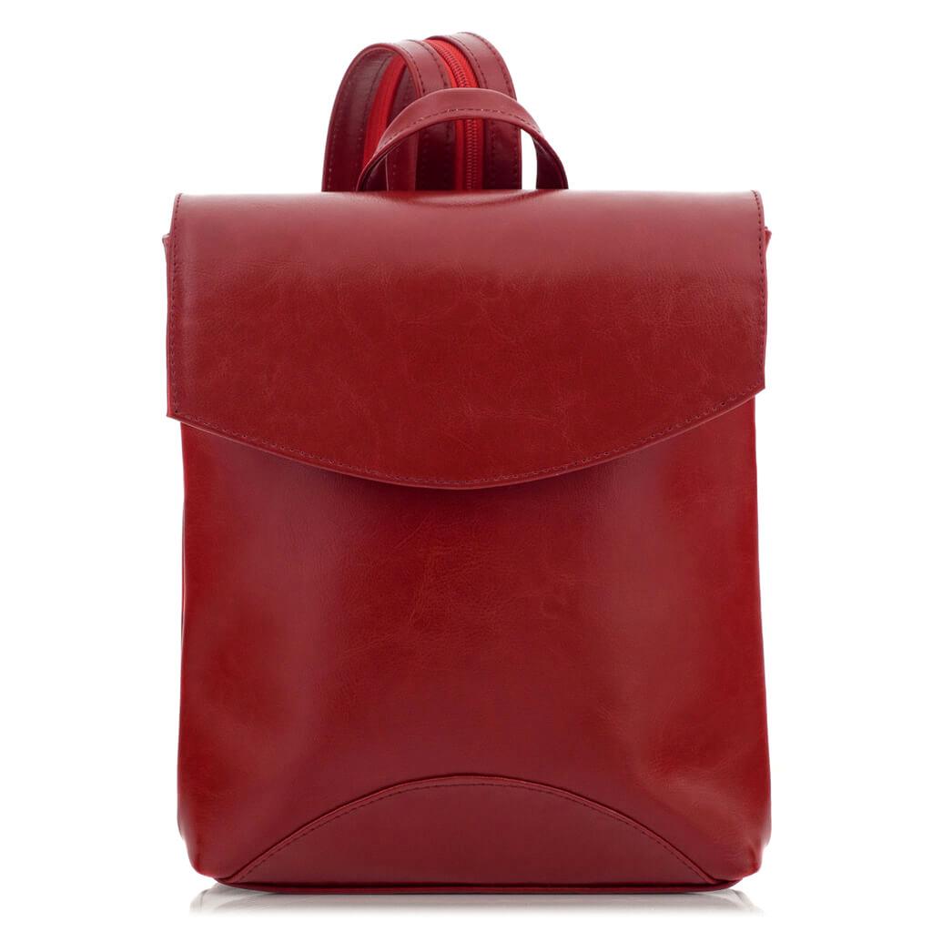 Skórzany plecak jednoramienny
