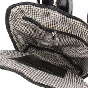 Elegancki plecaczek skórzany