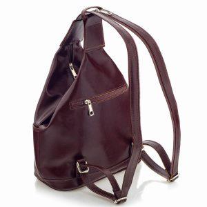 Burgundowy plecak