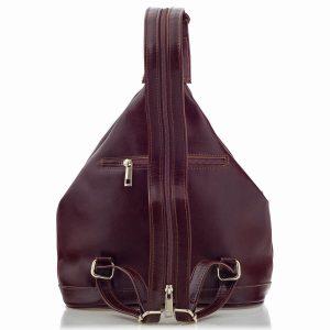 plecaczek burgundy