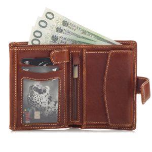 pojemny portfel męski