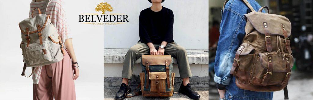 plecaki ztkaniny iskóry stylizacja
